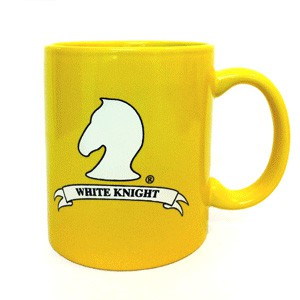 White Knight Coffee Mug